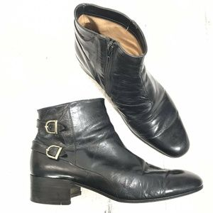 Vintage Star Artioli Handmade In Italy Ankle Boots